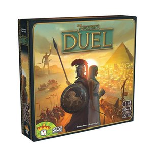 Heißer Verkaufs-Brettspiel 7 Wonders Erweiterung 7 Wonders Duel 2 Spieler Strategy Board Card Game Deutsche Version Spiel Y200413