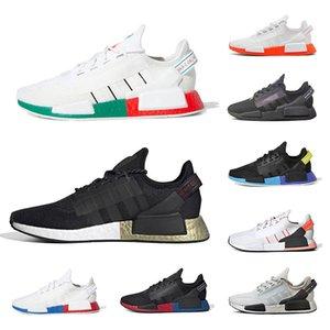 2020 Adidas nmd r1 НОВЫЙ стиль прогулочные кроссовки высшего качества Triple RED мужчины женщины для кроссовок мода мужские кроссовки спортивная обувь