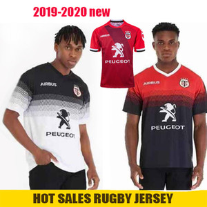 2020 Nuovo Toulouse Rugby Maglie Lega maglia della nazionale 2019 2020 Toulouse Rugby Maglie Tempo libero Sport Lentulo Shirts Size S-5XL
