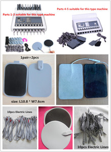 Self-stick Electrode Pads Cables and wires for TENS EMS Body Machine Micro Current Electrode Stimulation Massage Machine Accessories & Parts