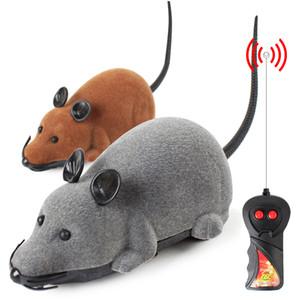 3 색 마우스 고양이 장난감 무선 원격 제어 애완 동물 장난감 대화 형 Pluch 마우스 RC 전자 쥐 마우스 장난감 고양이 새끼 고양이