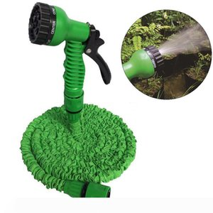 Water Ejector Plastic Lengthen Graden Retractable Water Hose Set Car Washing Expand Water Hose Multi-function Spray DH0755