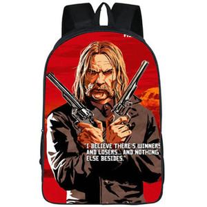 Los ganadores mochila Red Dead Redemption mochila mochila nada del juego bolsa de otra escuela print Foto mochila Sport paquete de día al aire libre