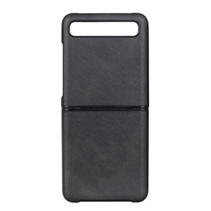 ل Samsung Galaxy Z Flip Leather Phone Case Personalized PU Cell Phone Cover For Samsung S20 Ultra Folding Phone Case