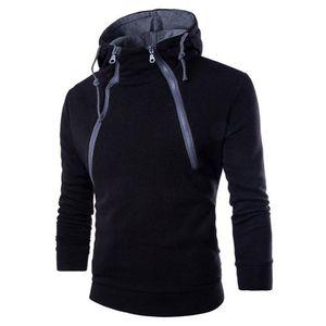 Männer Pullover Hoodies moletom beiläufigen langen Hülsen Male Sweatshirt Winter-Patchwork Hoodiemänner Top Street sudadera hombre