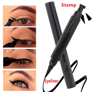 Eyeliner Pencil Pro Waterproof Long Lasting Makeup Stamp Eye Liner Pen no logol but can private label if meet minimum please talk to us