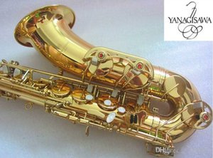 New YANAGISAWA T-902 Professionnel de Super Made Saxophone ténor Sib laiton d'or Tenor Sax instrument de musique avec étui