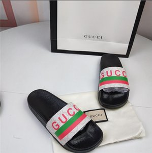 Designer Spring Summer Chinese fashion casual business style slippers luxury high-end leather clean fashion slippers extra-large :35-46.