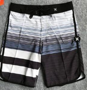 Плавок лета Мужская спандекс Boardshort Quick Dry Board Shorts Bermuda Surf Beach Swimwear Short Homme