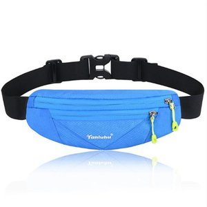 Rodage Sac de taille TANLUHU 0311 Polyester Ultraléger Marathon Sac d'extérieur Escalade Randonnée Sports