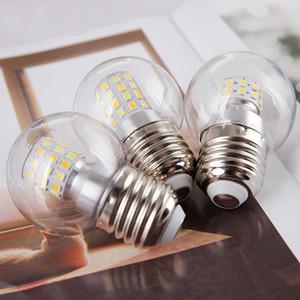 세 가지 색상 변환 G14 LED 글로브 전구 5W 6000K 4000K 3000K E27 나사 자료 장식 에디슨 전구