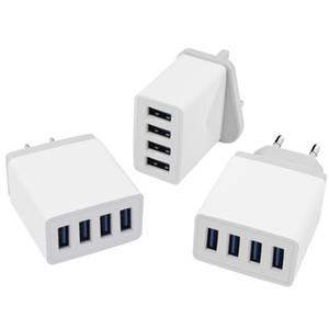 4 порта быстрая быстрая зарядка QC3. 0 USB-концентратор настенное зарядное устройство адаптер питания US / EU Plug