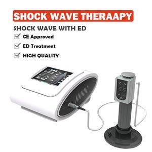 Protable Şok ED işlenerek çıkarılabilir için CE Onayı Taşınabilir Şok dalgası Terapi cihazı ile fizyoterapi Makinesi wave