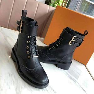 cuir Fashion Star chaussures femmes femme femmes cuir courte automne concepteur de la cheville d'hiver de mode bottes taille Western Boots Martin; 35-42