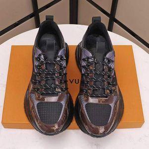 Run Away Pulse Sneaker Chaussures Hommes Luxe Doux Chaussures Mode Design Type Chaussures de sport lacées Hommes Chaussures Casual Chaussures pour hommes