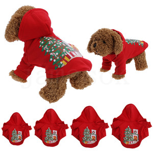8 Design Christmas dog apparel pet dog costume winter clothes dog cloth for teddy bichon puppy cotton DA032