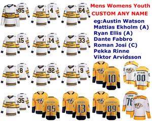 2020 Winter Classic Nashville Predators jerseys Austin Watson Jersey Ekholm Ryan Ellis Dante Fabbro Hamhuis Hockey Jersey cosido personalizada