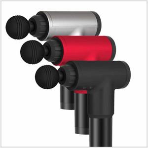 Gun massage rechargeable Muscle Therapy Gun High Power aide à soulager les douleurs musculaires et Rigidité avec 4 têtes Retail Box