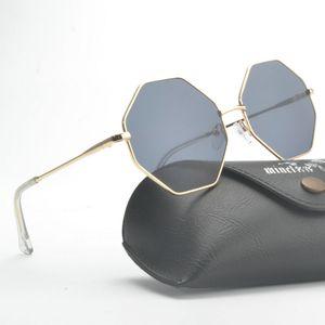 wholesale Oversized Sunglasses Women Designer Big Frame Sun Glasses Women's Transparent Glasses Pink Color Eyewear NX