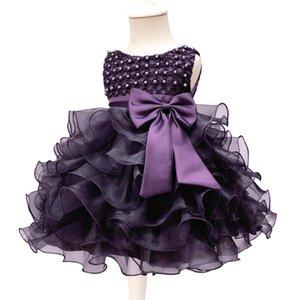 Hot sale baby dress one year old princess dress pettiskirt gauze dress one year old