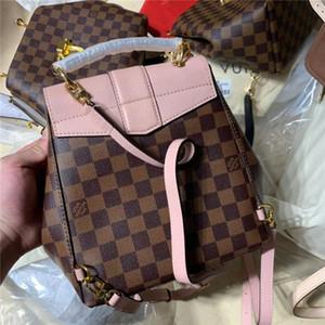 Neue Luxus-Designer-Taschen Fashion Rucksack der heiße Verkauf-Taschen Spitze Praktische schöne Rucksack Qualität Größe NN42259 21CM Kaffee Haut