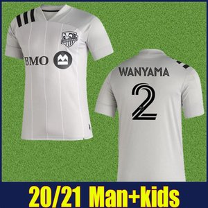 MLS 2020 Montreal Impact Wanyama Futbol Forma Urruti Taïder Futbol Gömlek Montreal Impact Çocuk kiti enfants daha 10pcs DHL kargo