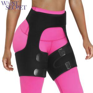 Secret Slim Thigh Trimmer Cintura Shapers Slender Emagreating Belt Neoprene Sweat Shapewear Toned Muscles Band Thigh Smimmer Wrap