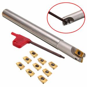 1шт 150мм хвостовик Lathe Turning держатель инструмента 300R C14-14-150 расточной оправке + 10шт APMT1135PDER Вставки с T8 ключа