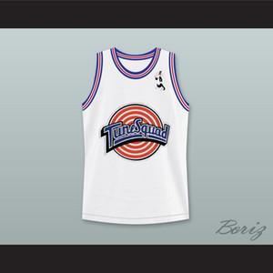 Space Jam Sylvester Sylvester ile Kedi 9 Ayarlama Squad Basketbol Jersey Kedi Yama Özel Herhangi İsim Herhangi Numara