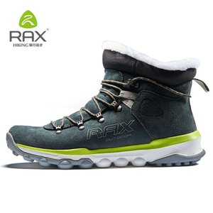 RAX Men's Hiking Boots Trekking Mountain Shoes for Professional Men Breathable Soft Comfortable Warm Shoes Women