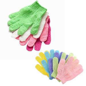 Bath guanti esfoliante guanti che idratano Spa Cura della pelle bagno corpo Guanti Bagno Doccia Mitt Scrub Spa Massage