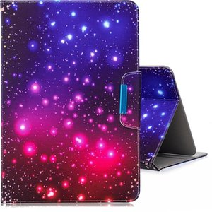 For 10 inch Tablet PC Universal Colored Drawing Horizontal Flip PU Leather Case with Holder & Card Slots