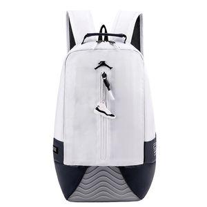 2019 NOUVEAU hommes et femmes occasionnels mode de voyage en plein air sport sac à dos A 13 J designer noir en cuir blanc Portable sac à dos double usage sac à dos