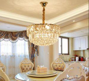 وصول جديدة الثريات الفخمة الحديثة الكريستال الإبداعي قلادة الثريا الإضاءة الكريستال مصباح الذهب أضواء قلادة لMYY غرفة الطعام