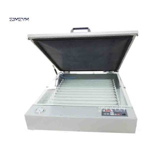 New MD6075 Silk Screen Vacuum Screen Exposure Machine Printing Plate-making Equipment Desktop Exposure Machine 400W 110V 220V