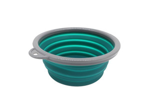 Silicone 1000ml 2 pack big dog bowls Collapsible silicone bowl,foldable travel pet feeder,portable dog bowl,foldable feeding pet supplies