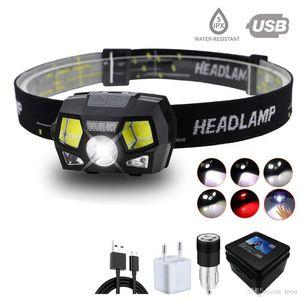 Proyector de LED Zoomable 1T6 + 4XPE + COB lámpara llevada grano iluminación 5 modos de conmutación al aire libre