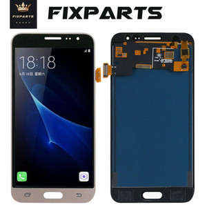 Can Adjust Brightness Display For Samsung Galaxy J3 2016 J320 J320F J320P J320A LCD Replacement Touch Screen Digitizer Assembly