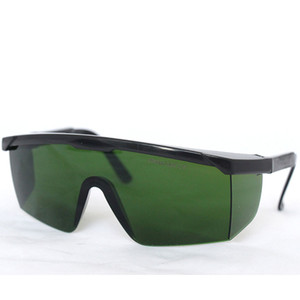 نظارات حماية السلامة ، حملق واقية من الليزر ، 190-420 نانومتر OD = 4-5 امتصاص واسع واسع الطيف للاستخدام في صالون التجميل