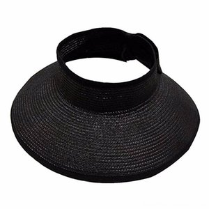 Cap Мужчины Короткие Брим Baseball Cap для шапки шапки шапки, шарфы перчатки Женщины Повседневная женщин лето Складная соломы ВС Visor Симпатичные Боути Бич