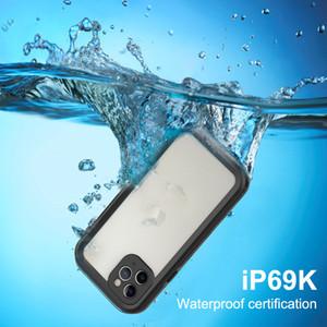 11 para el iPhone PRO MAX Caso Samsug Galaxy S20 impermeable TPU teléfono contraportada gota de resistencia a prueba de golpes puede tomar fotos bajo el agua