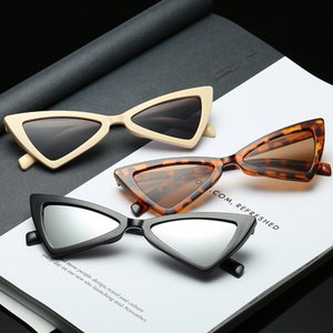 Cat's Eye Sonnenbrille Sexy Triangle Leopard Frame Zubehör Verschiedene Farben Optionale Kunststoffbrille Damen Sonnenbrille für Sonnenbrillen