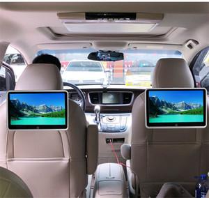 10,1-дюймовый автомобильный подголовник монитор Авто мультимедиа MP4 MP5 видео плеер TFT HD ЖК-дисплей с сенсорным экраном Bluetooth / USB / FM Универсальный