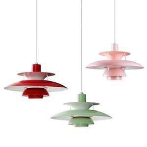 북유럽 창조적 인 성격 현대 PH5 펜던트 조명 간단한 알루미늄 LED 끊기 램프 거실 침실 연구 식당 등