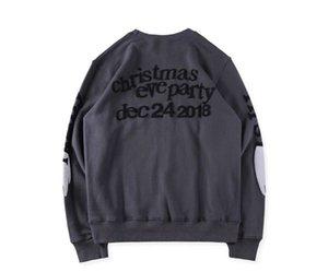 Graffiti Designer Sweatshirts Ghosts Herren Teenager See Hoodies Kanye Hoodies Wings Oansatz Kleidung Frühling Herbst Mens Mode-Kids Enfgo
