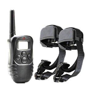 Professhional Dog Training Collar 998DR rechargeable à distance écran LCD étanche anti-aboiement choc électrique Collier pour chien choc