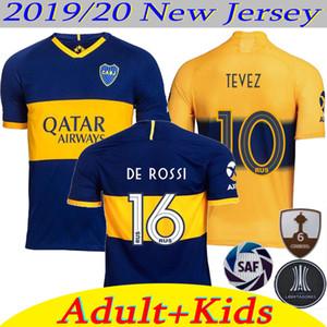 2019 2020 Boca Juniors futebol Jersey Casa Fora 19 camisa de futebol esportes OSVALDO CARLITOS PEREZ DE ROSSI TEVEZ Homem Crianças 20 Boca Juniors GAGO
