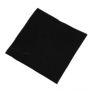 Filtrasyon Köpük akvaryum balıkları Tankı Biyokimyasal Filtre Sünger Tampon Mat 50x50cm Akvaryumlar Balık Pet Siyah Malzemeleri