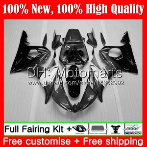 Bodys Grey black For YAMAHA YZF R6 S YZF600 YZFR6S 06 07 08 09 102MT2 YZF-600 YZF R6S YZF-R6S 06 2006 2007 2008 2009 Fairing Bodywork Kit
