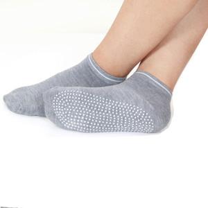 New Fashion Anti-friction Yoga Socks Non Slip Pilates Barre Sports Floor Socks With Grips Free Shipping